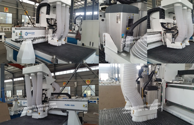 FLDM-1325 wood mdf cutting drilling cnc router machine for furniture