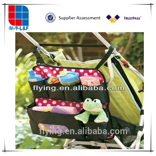 Stroller Organizer Baby Wipes Supplies Holder