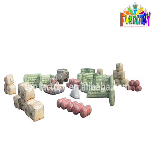 2014canton fair hot sell inflatable paintball bunker,paintball bunker