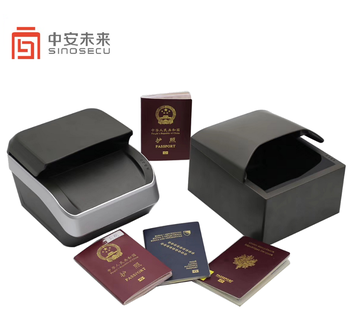 Hotel Hospitality Airport Self service check in passport reader full page UV light passport scanner