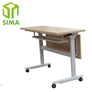 Office Small Metal Folding Work Table Legs With Fold Up Table Top