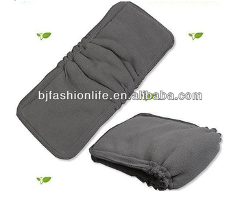 High Quality 5 Layers Double Gussets Bamboo Charcoal Fleece With ...