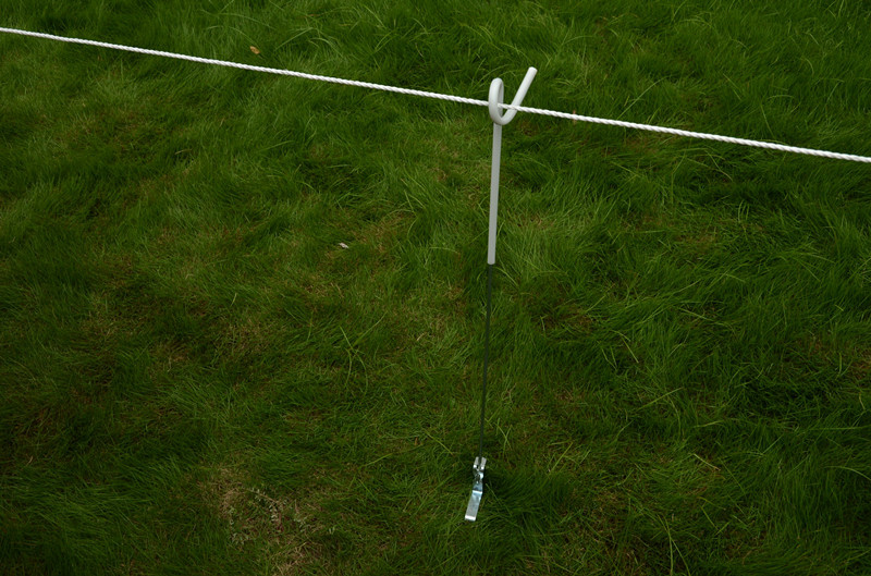 Pigtail Posts for farm Electric Fencing Strip Graze Fence Post