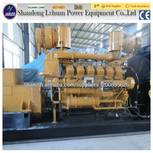 houshold waste gas powered electric plant engine biogas generator 200kw