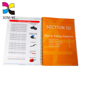 Print on demand custom paper bill china book printing with perforation