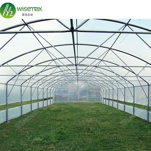 Hot sale used high tunnel green house for commercial agriculture