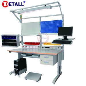 Customized modular assembly workbench with Additional equipment for drawers