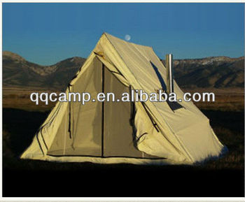 3m Canvas Family Pyramid Cotton Tent With Stove Tent Buy