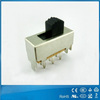 3 position mini slide switch manufacture on/off 8 pin slide switches