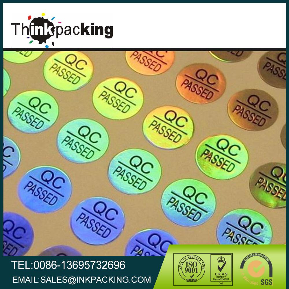 Cari kualitas tinggi qc lulus label produsen dan qc lulus label di alibaba com
