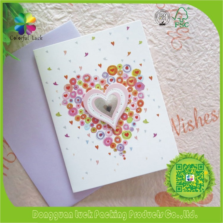 Handmade Paper Border Design New Year Christmas Card