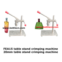 perfume bottle crimping machine for 15mm sprayer pumps/bench-top vial crimper cappress perfume bottle