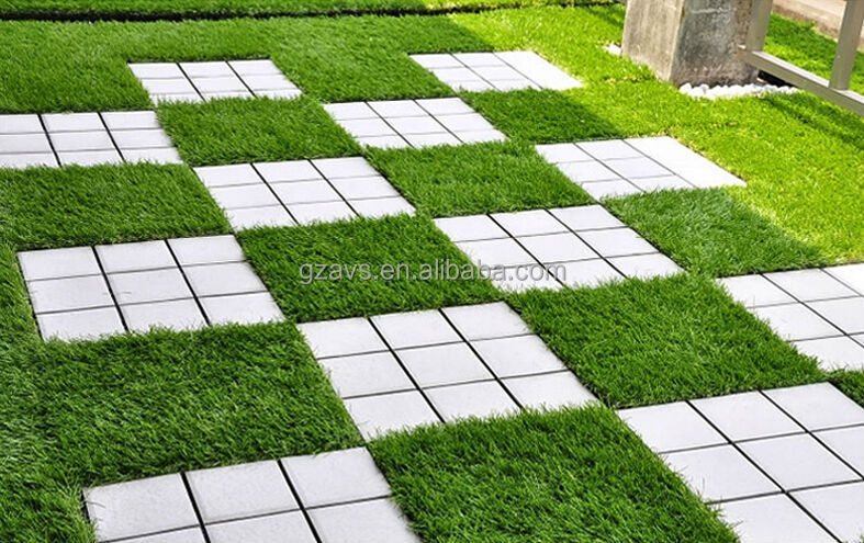 Artificial turf carpet tiles floor matttroy for Grass carpet tiles
