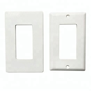 YGC-009 Plastic decorative hanging wall plates for electrical socket