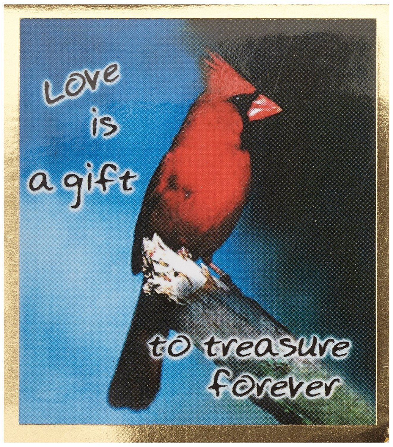 Gift Trenz Love Is A Gift To Treasure Forever Magnetic Bookmark