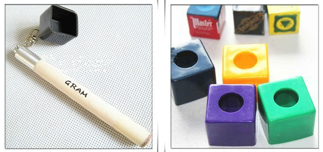 Pen Pocket Billiard Chalk Holder