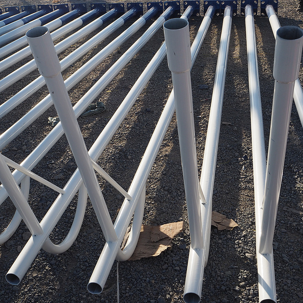 Weld beam heavy duty steel s275jr galvanized and coating steel beam type of steel poles