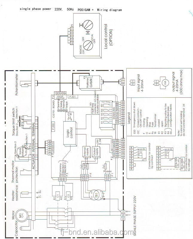 auma actuator wiring diagrams