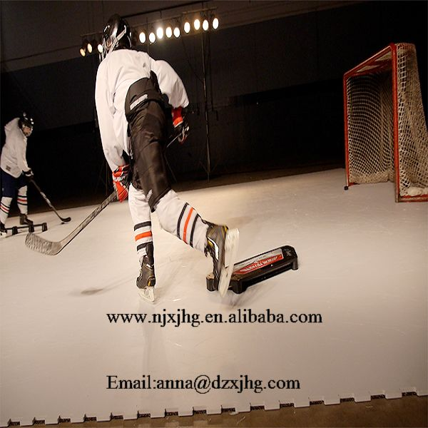 UHMW Board Synthetic Hockey Rink