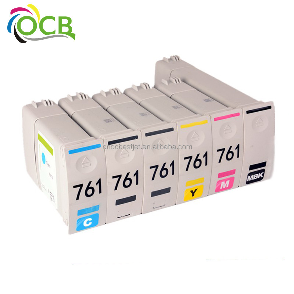 Ocbestjet Excellent quality,Compatible For HP T7100 Ink cartridge kit for HP 761