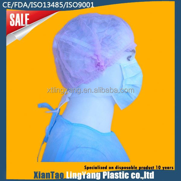 hair net snood cap with peak