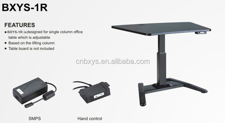 Wholesale Electric Lift One Leg Desk Table Stand For Sale