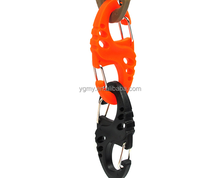 Colorful Plastic S-Biner Carabiner Clips For Paracord Survival Bracelet/Keychain
