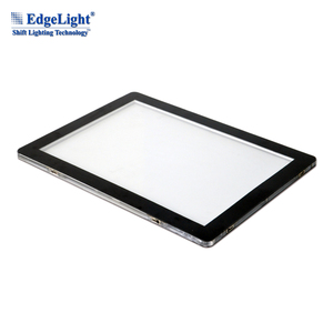Edgelight CF9 Real Estate Agent Cable Window Displays Systems led slim double side crystal light box