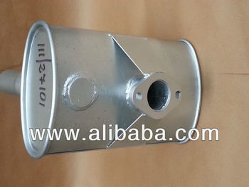 Jcb = 111/27101 - Exhaust Silencer - 3c Mk3 Power Train
