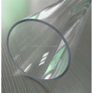 transparent PVC pipe, schedule 40&80 plastic pipe