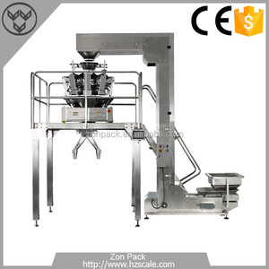 Manual Collecting Packaging System With Multihead Weigher
