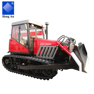 Cheap agricultural 100hp to 140hp crawler farm rubber track tractors from Manufacturing