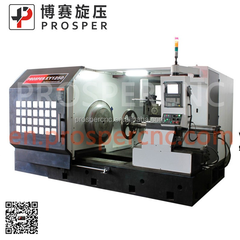 Zware cnc metalen spinning machine