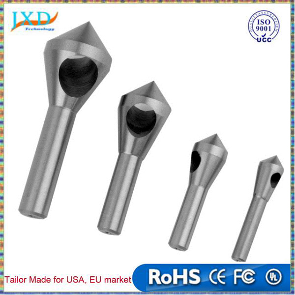 Chamfer Countersink Deburring Drill Bit Set Crosshole Cutting High-speed steel Tool
