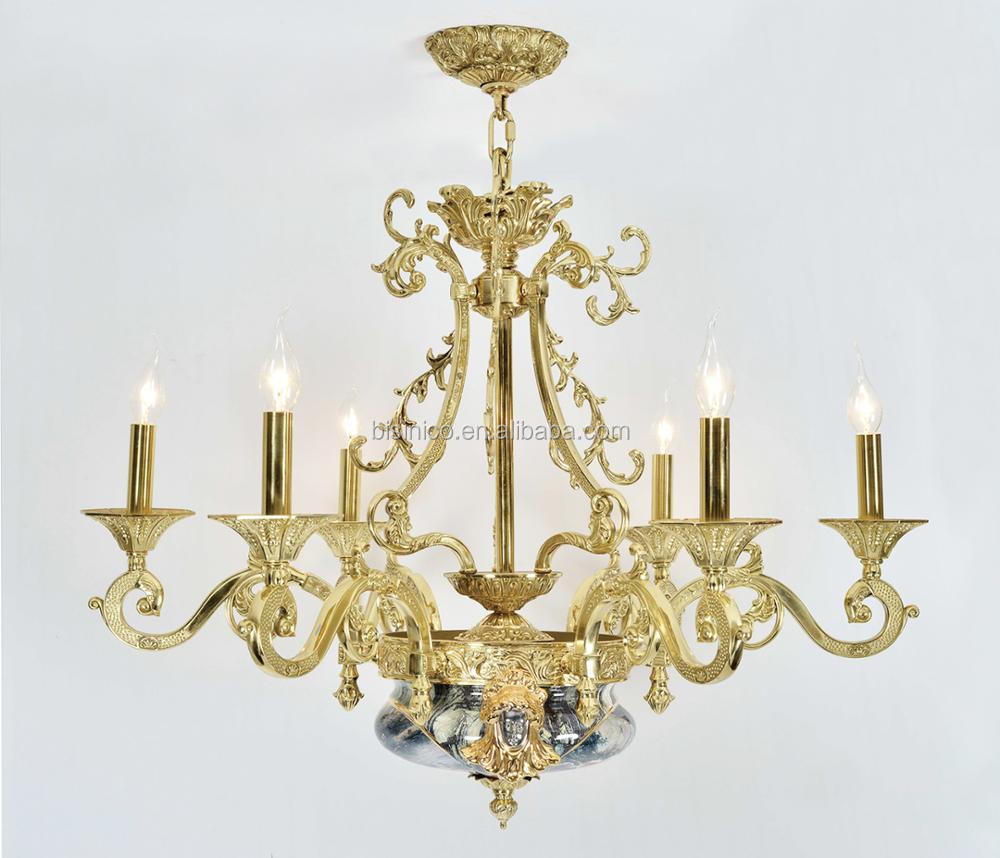 European porcelain chandelier with gold plated brass carved arms european porcelain chandelier with gold plated brass carved arms arabic antique 6 lights ceramic pendant arubaitofo Image collections