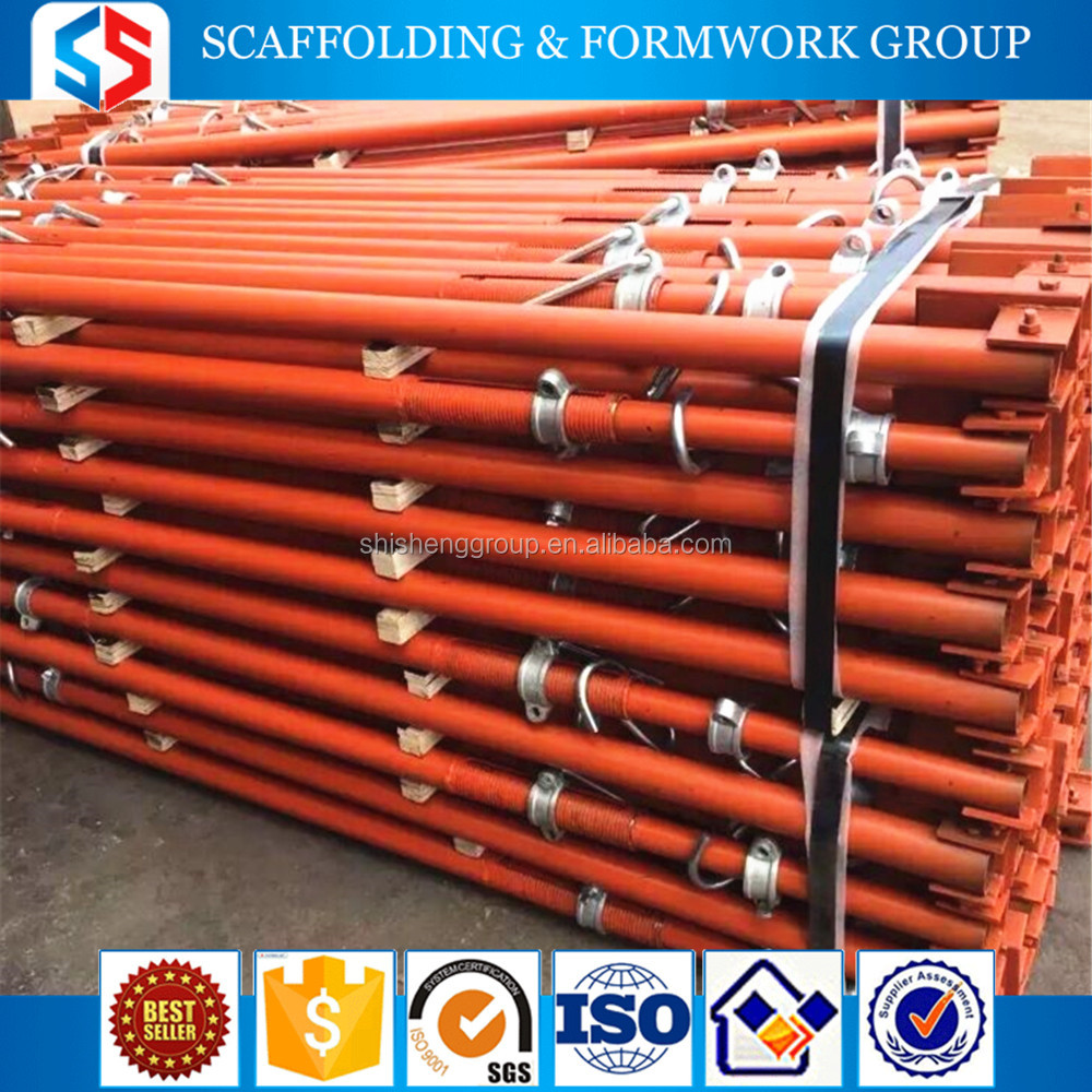 Tianjin SS Group light duty/heavy duty High Standard adjustable construction prop scaffolding props steel props for England