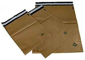 "100 #5 (12"" x 15.5"") Unlined Biodegradable Self-Seal Poly Mailing Bags"