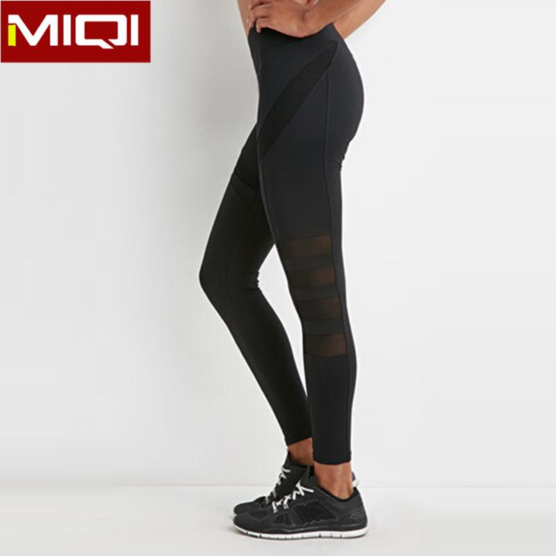 05c8576070439 Plain Black Tights Sexy Leggings With Pocket Gym Running Ladies Yoga Pants