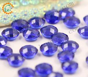 High quality Check Cutting AAA- Synthetic sapphire .Cubic zirconia.
