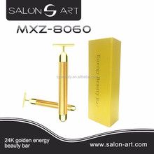 2017 new arrival home goods 24k gold energy beauty bar facial rolelr MXZ-8060