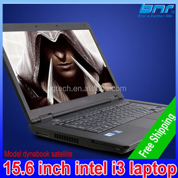 free shipping cheap 15.6 inch used intel core i3 laptop computer from japanese notebook with dvd rom