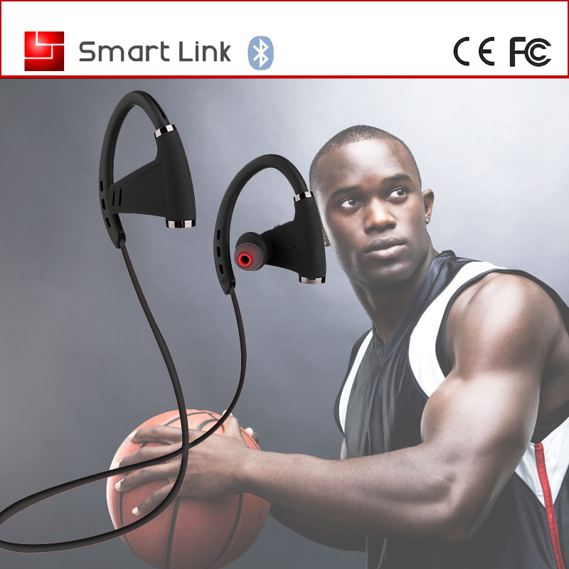 150 mAh battery life waterproof bluetooth stereo mp3 sport gym headphones