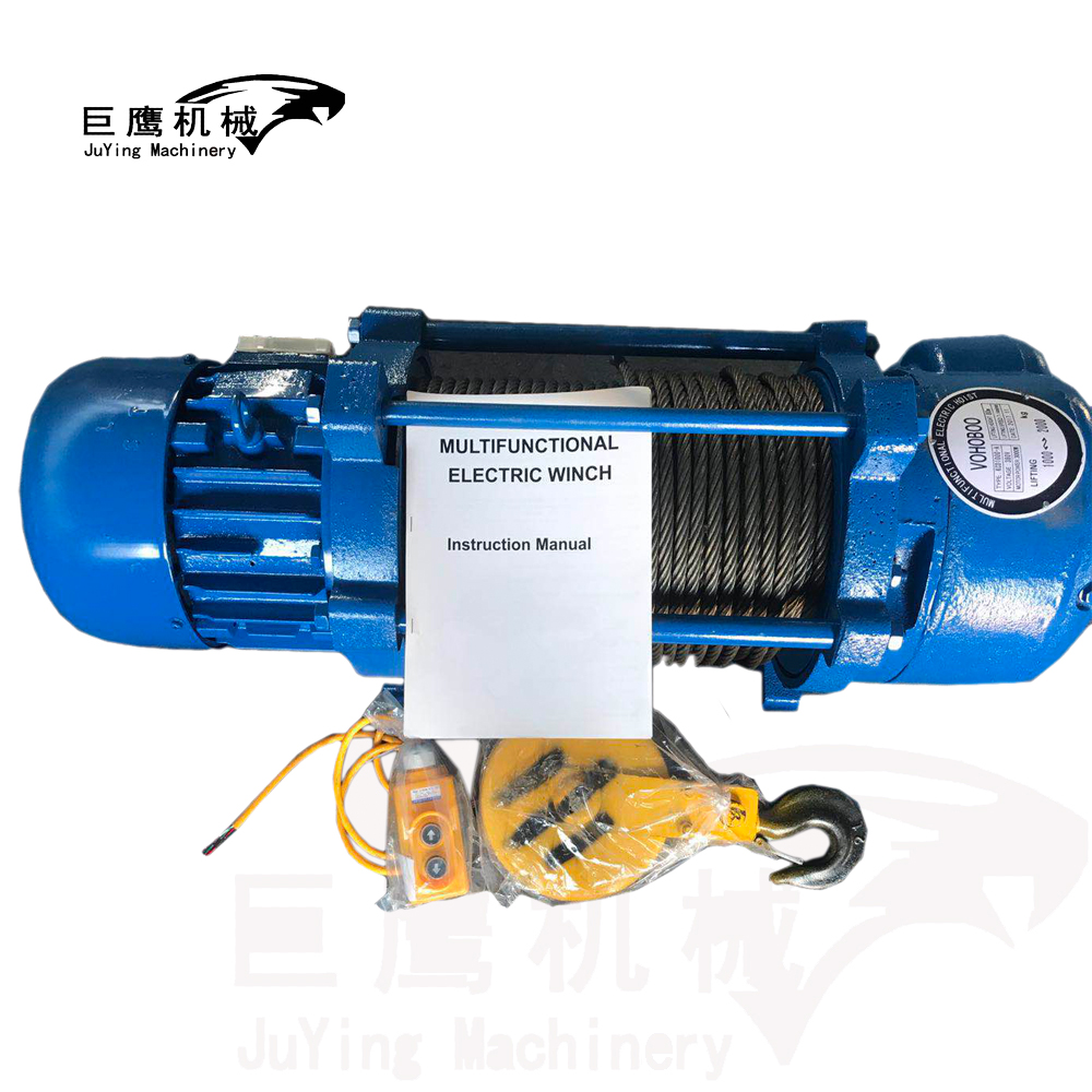2 Ton Cable Pulling Winch Wire Rope Electric Winch 380v - Buy Cable ...