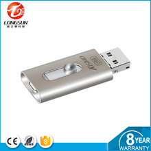 Promotional wristband supported office formats zinc alloy iDiskk Custom usb memory stick