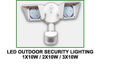 Outdoor LED Barn Yard Street Security Light Dusk to Dawn Waterproof Floodlight