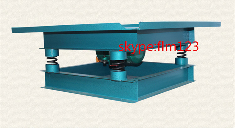 Electric Concrete Vibrating Shaking Table For Concrete
