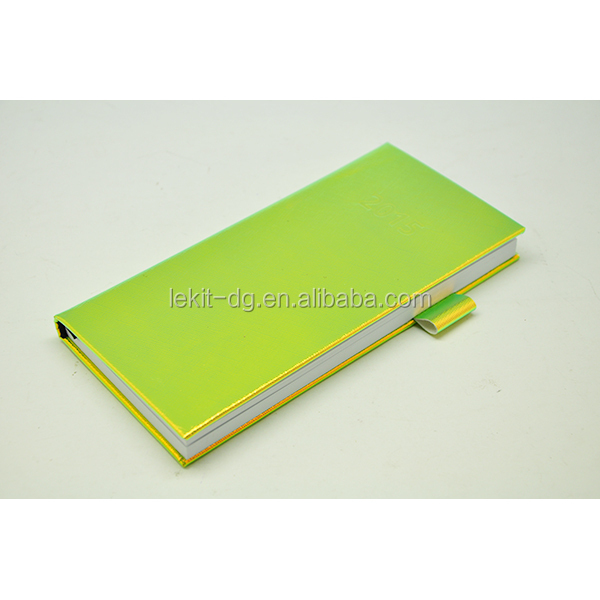 White Pu Cover Classmate Diary With Pu Pen Loop - Buy ...