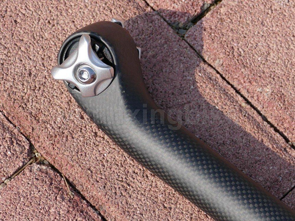 Toray Full Carbon Seatpost UD Matt 27.2*350mm ROAD Bicycle MTB Seat Tube LIGHT