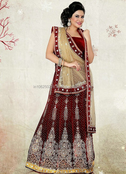 Magnificient Bollywood Designer Wedding Bridal Lehenga Choli Party Wear Dress Costume R5123