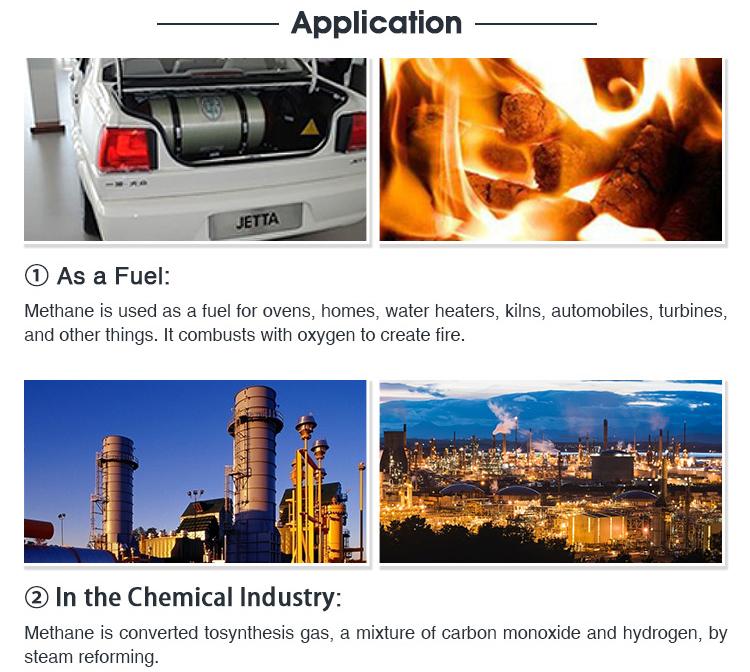 Elettronico del grado di alta purezza ch4 metano per la vendita